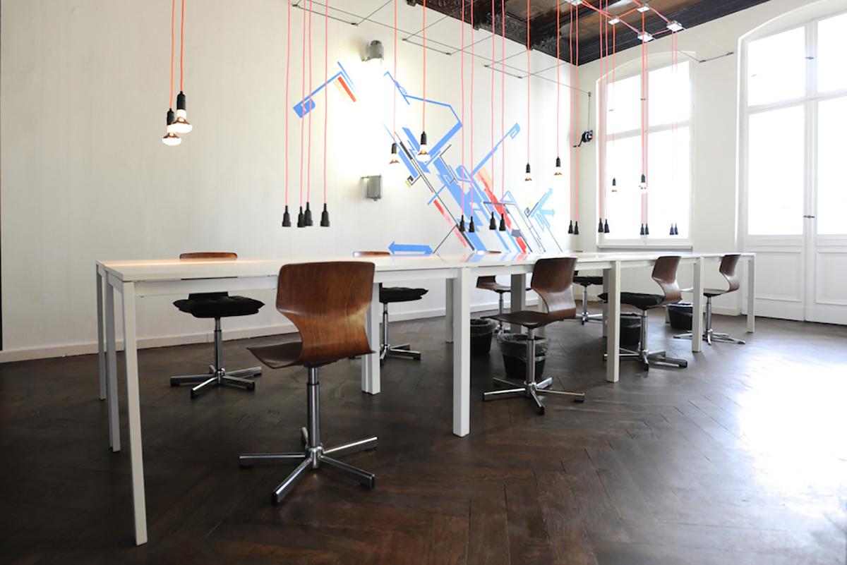 St Oberholz coworking space