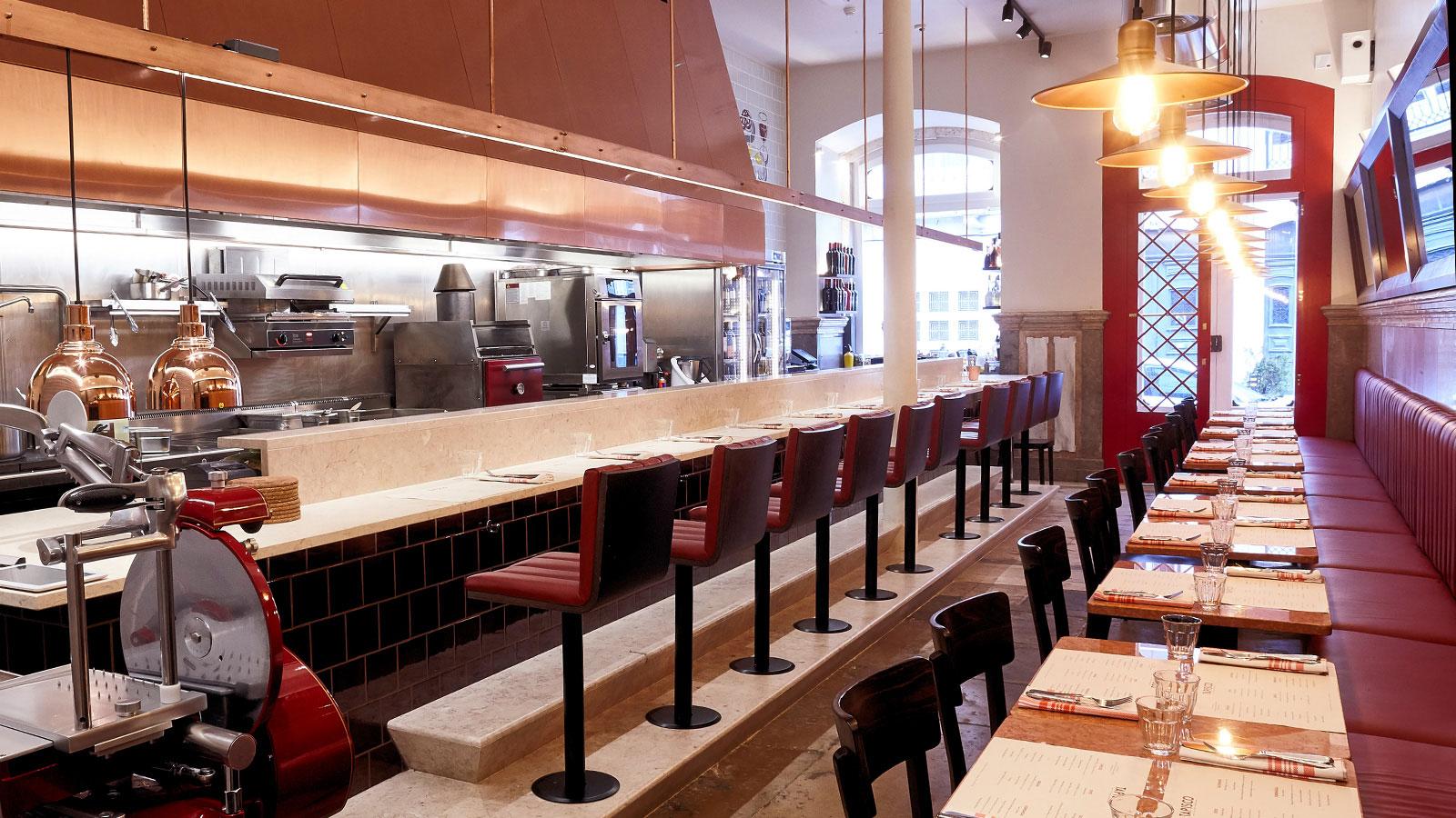 Tapisco restaurant in Lisbon