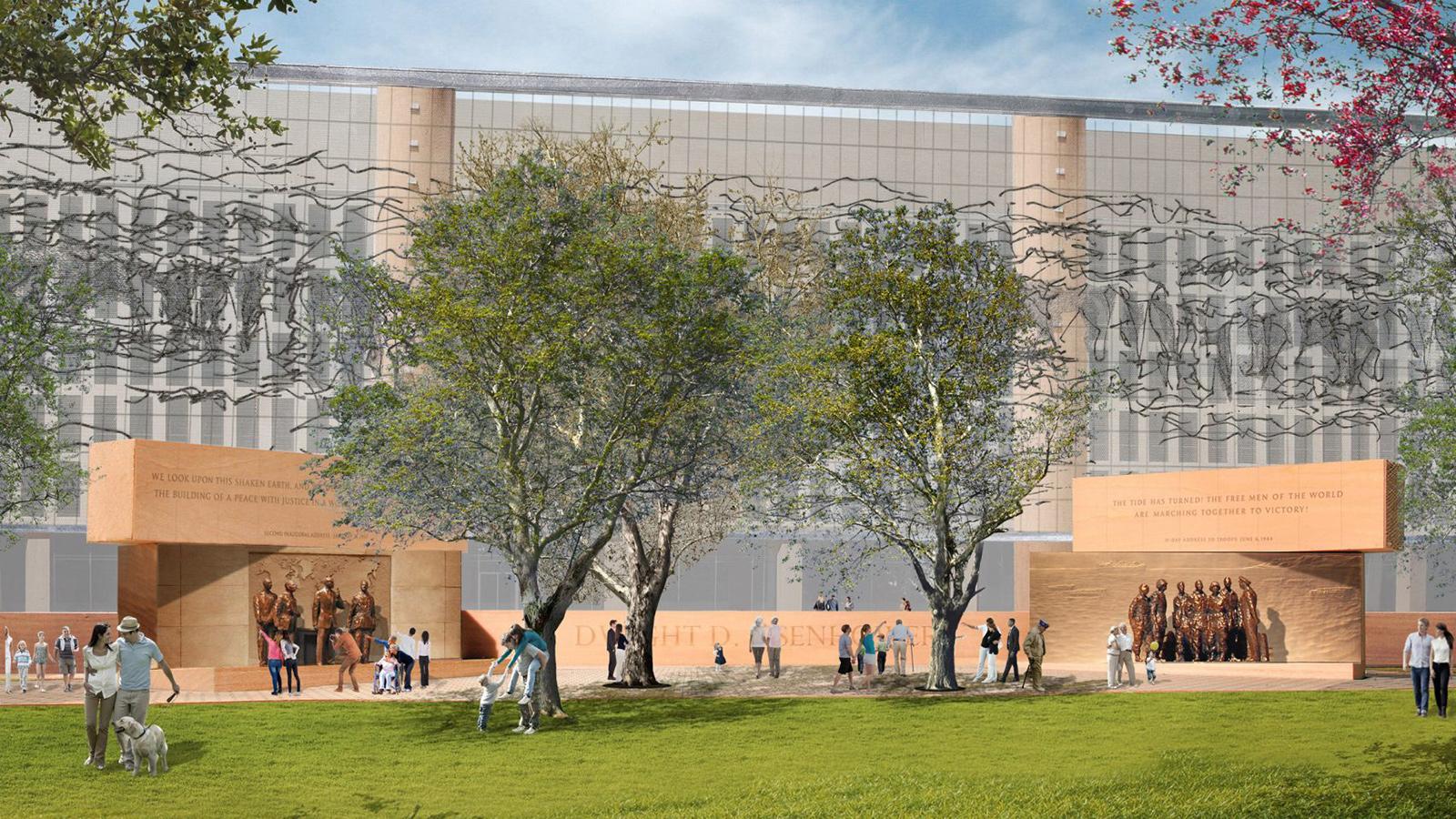 Frank Gehry's Eisenhower Memorial