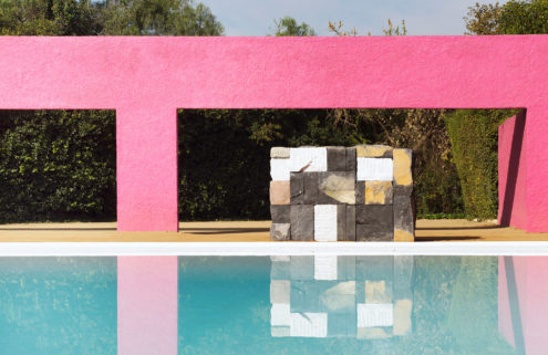 Luis Barragán's iconic San Cristóbal opens to the public for an art show