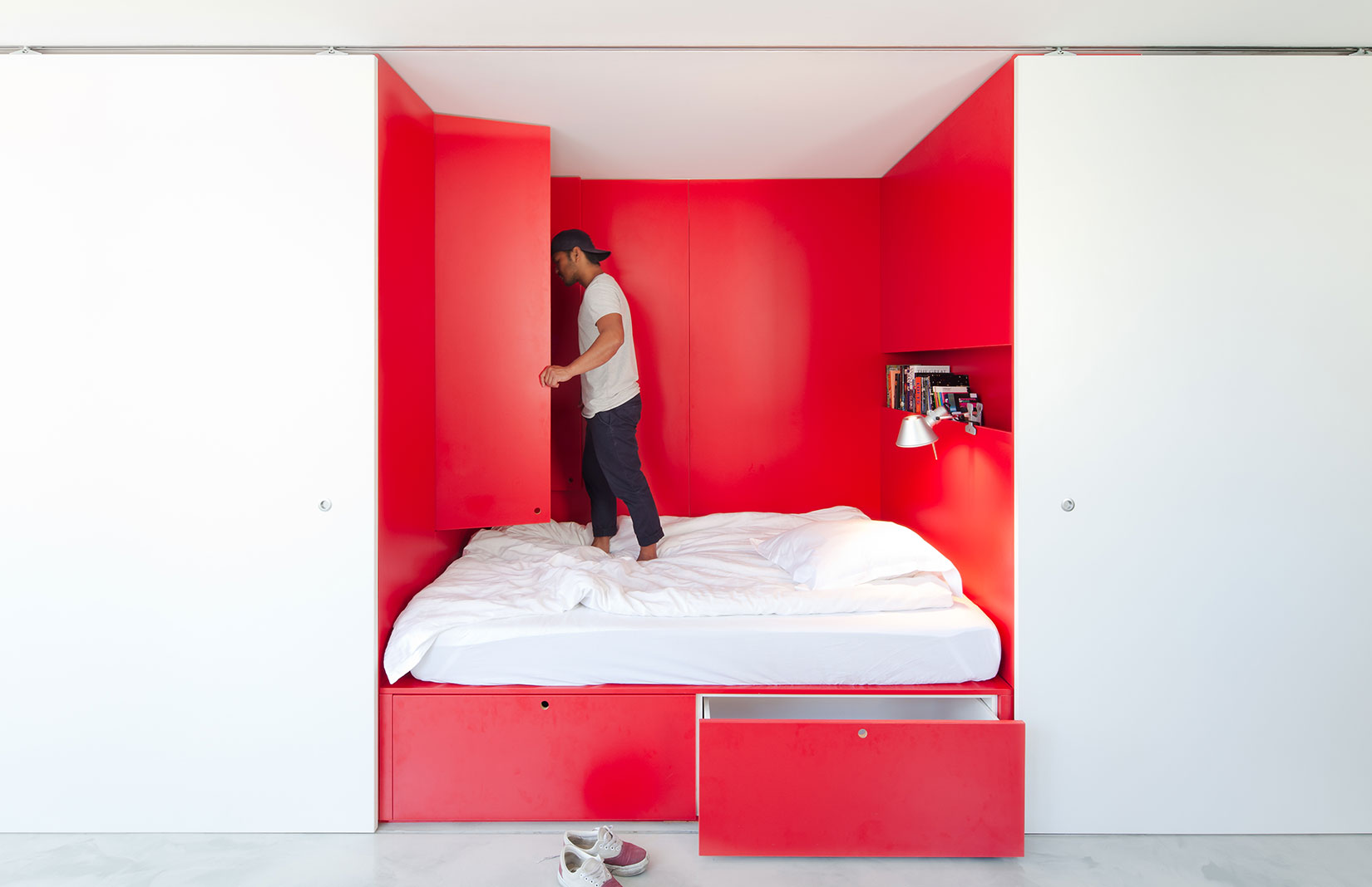 Micro apartment designed by Nichola Gurney
