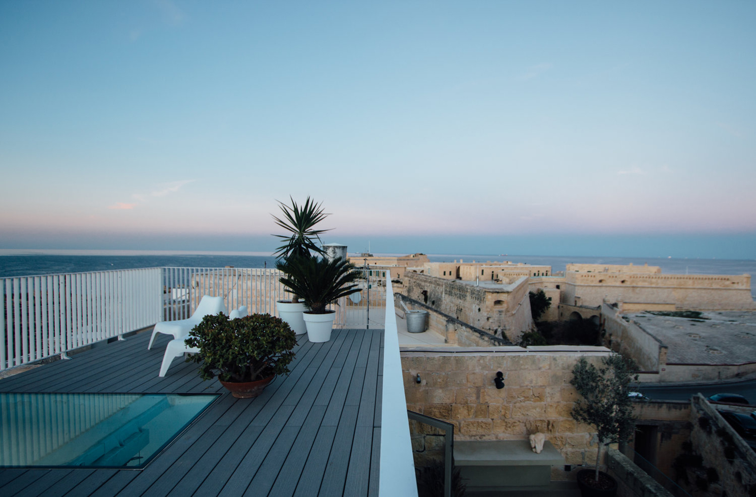 Holiday home of the week: a former architect's studio in Valletta, Malta