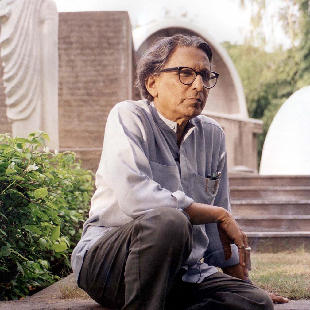 BV Doshi architect wins Pritzker Prize