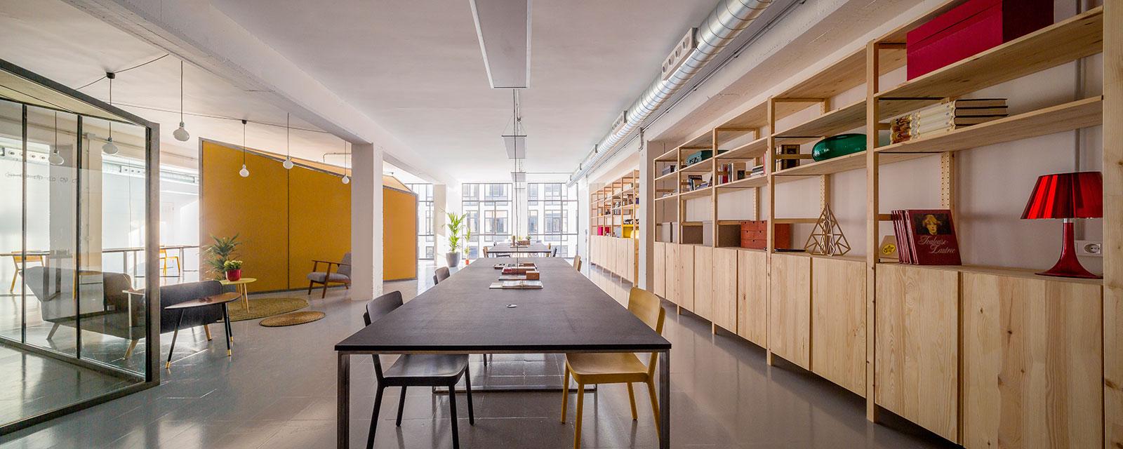 Barcelona coworking space, Zamness
