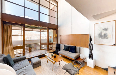 Apartment in Le Corbusier's famous La Cité Radieuse lists for €598k