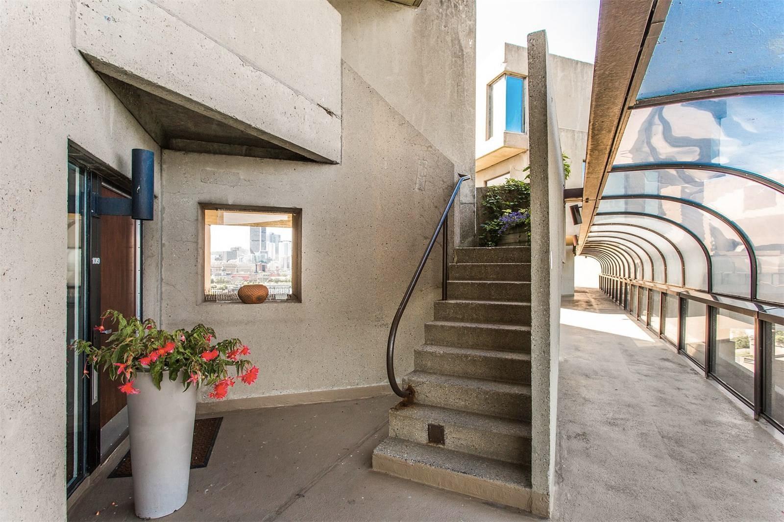 Habitat 67 penthouse apartment for sale via Sotheby's