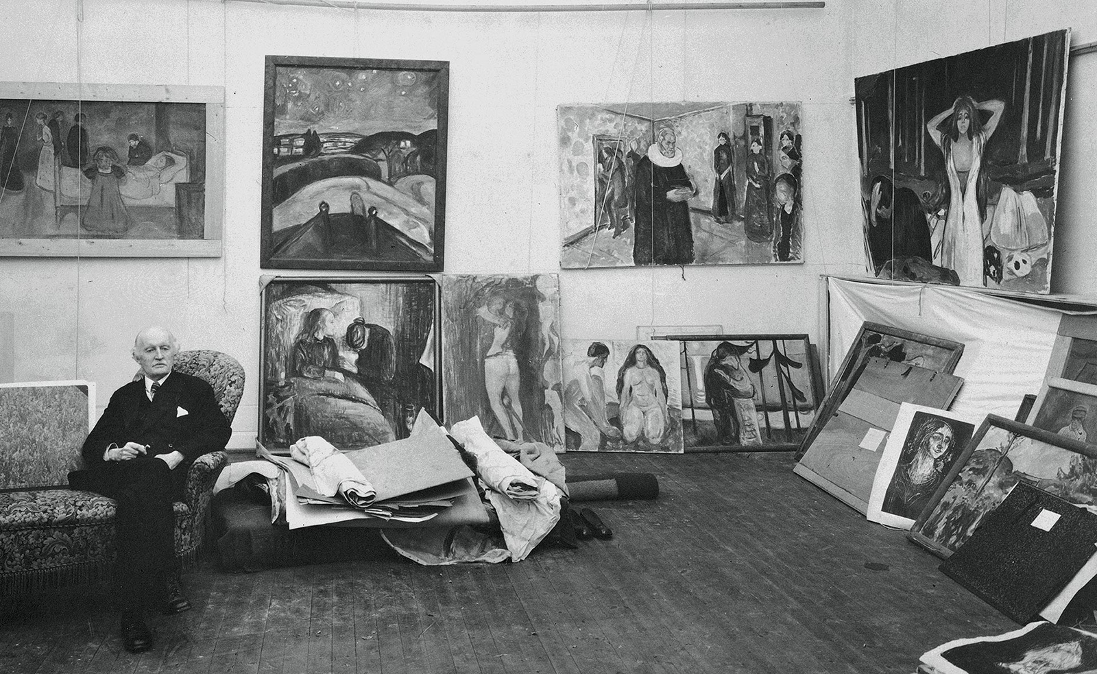 Munch Ekely studio