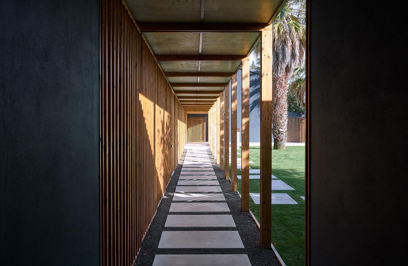 A Lisbon home designed by Portuguese architecture practice Atelier Data