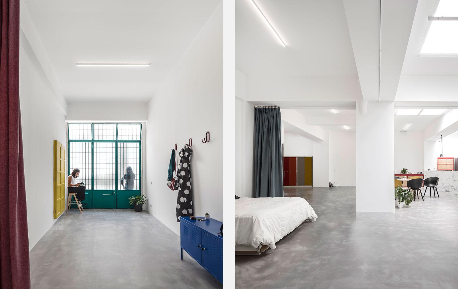 A garage conversion by Portuguese architecture practice Atelier Fala
