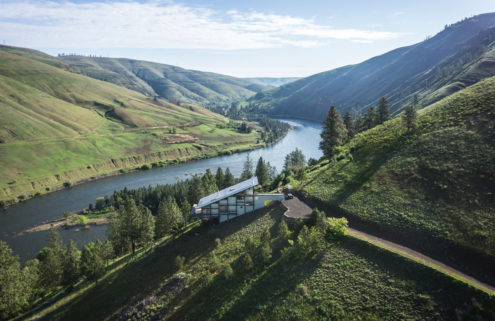 Property of the week: a riverside Idaho retreat