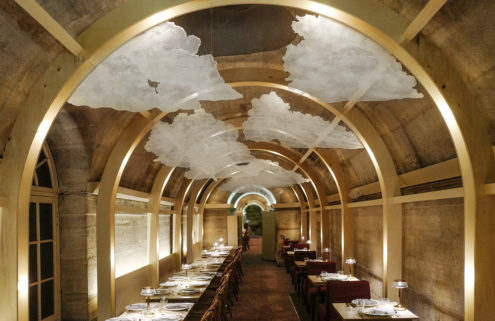 Massimo Bottura and JR launch an haute-cuisine soup kitchen in a Paris crypt