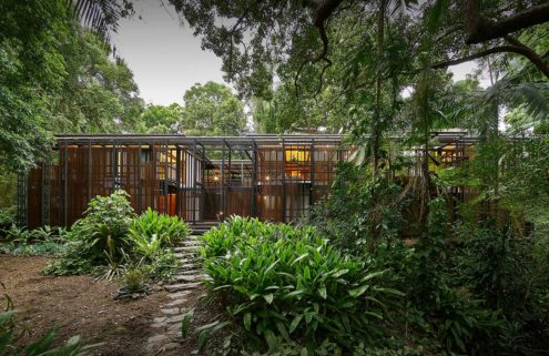 Property of the week: a hidden Brisbane sanctuary by Andresen O'Gorman Architects