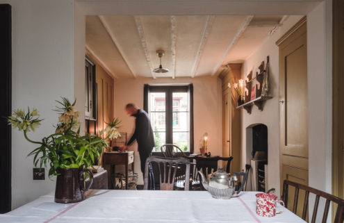 Meticulously restored Georgian townhouse in London lists for £1.65m