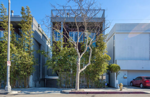 Canalside Venice Beach townhouse lists for $2.25m