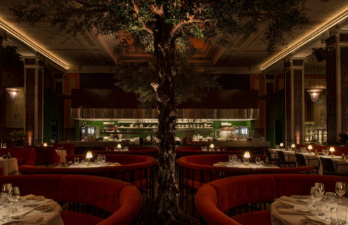 Stockholm cinema enjoys second life as decadent Italian restaurant L'Avventura