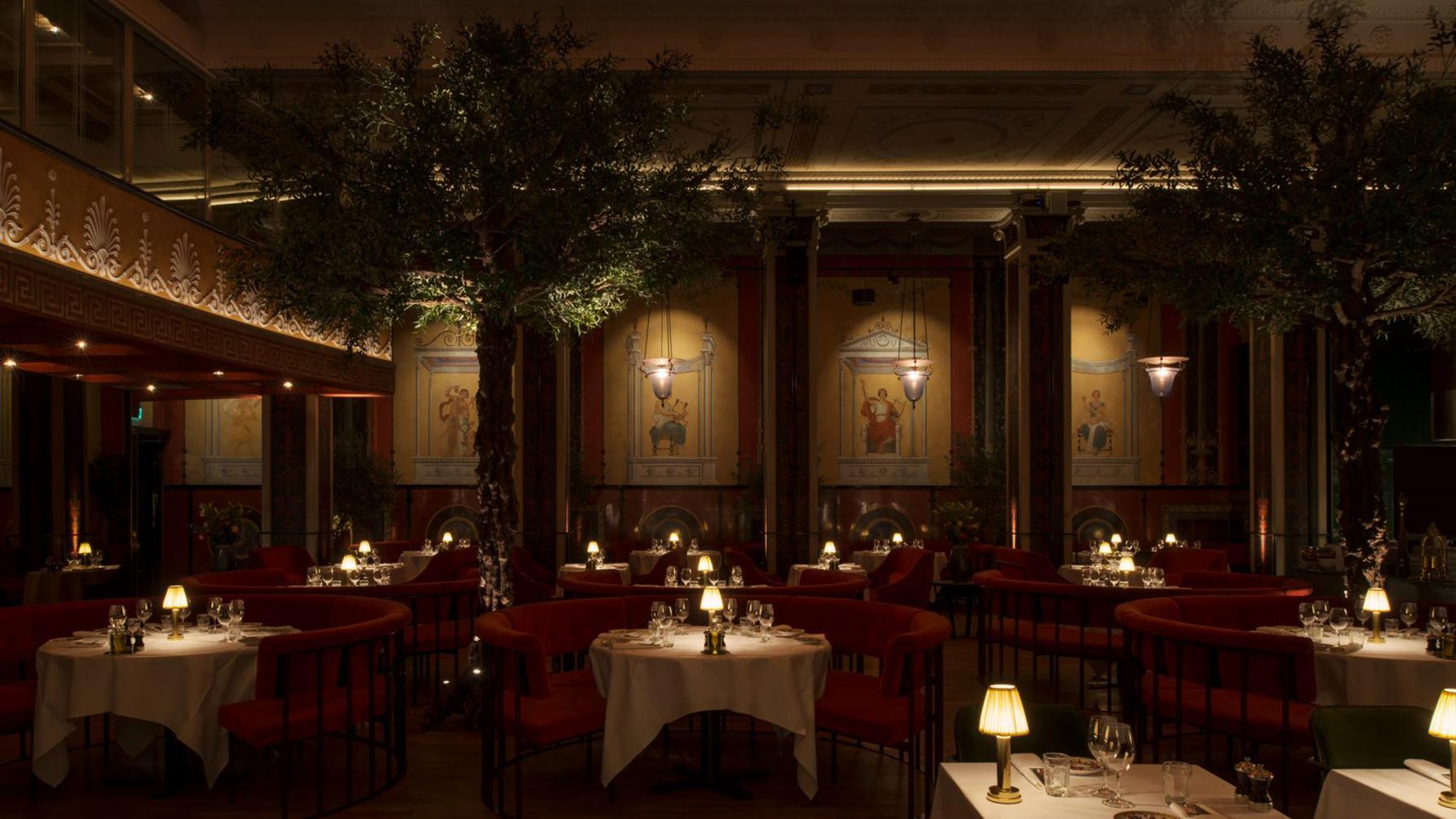 Stockholm cinema enjoys second life as decadent Italian restaurant L'Avventura