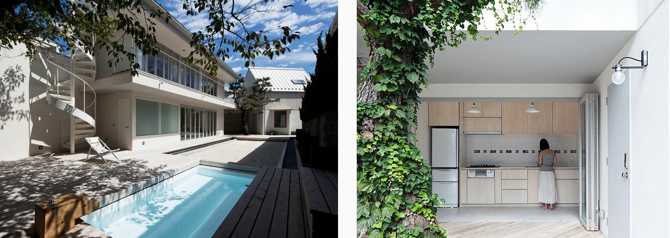 Modern Japanese vacation home Hayama Japan