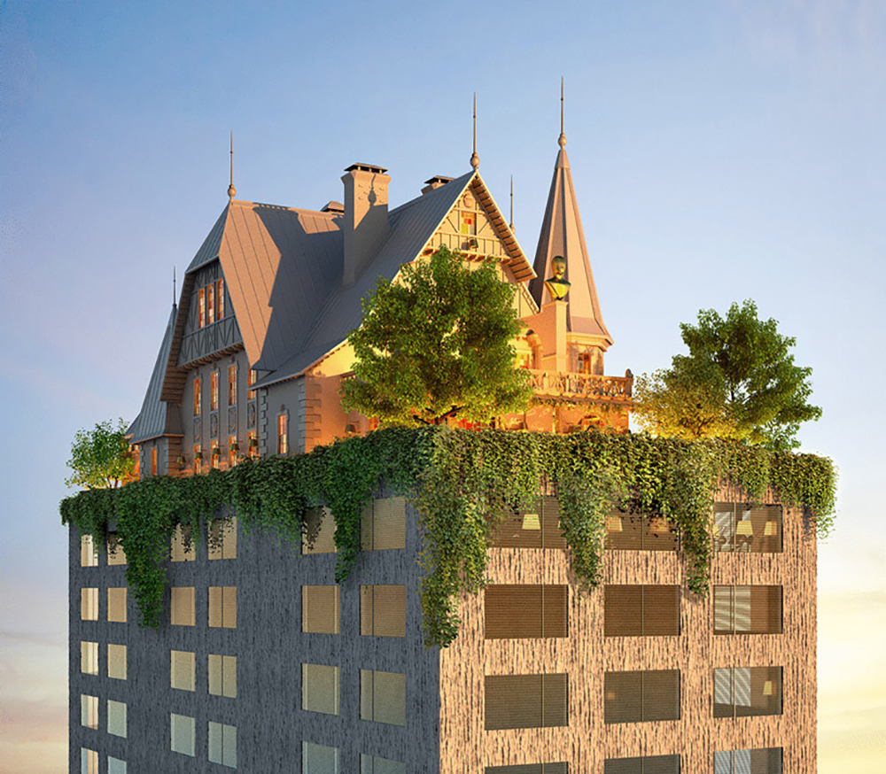 Philippe Starck Maison Heler