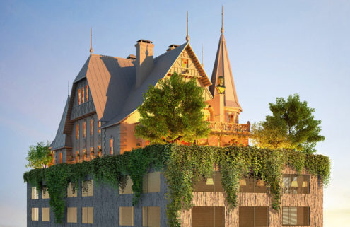 Philippe Starck wants to build a 'phantasmagoric' hotel in Metz