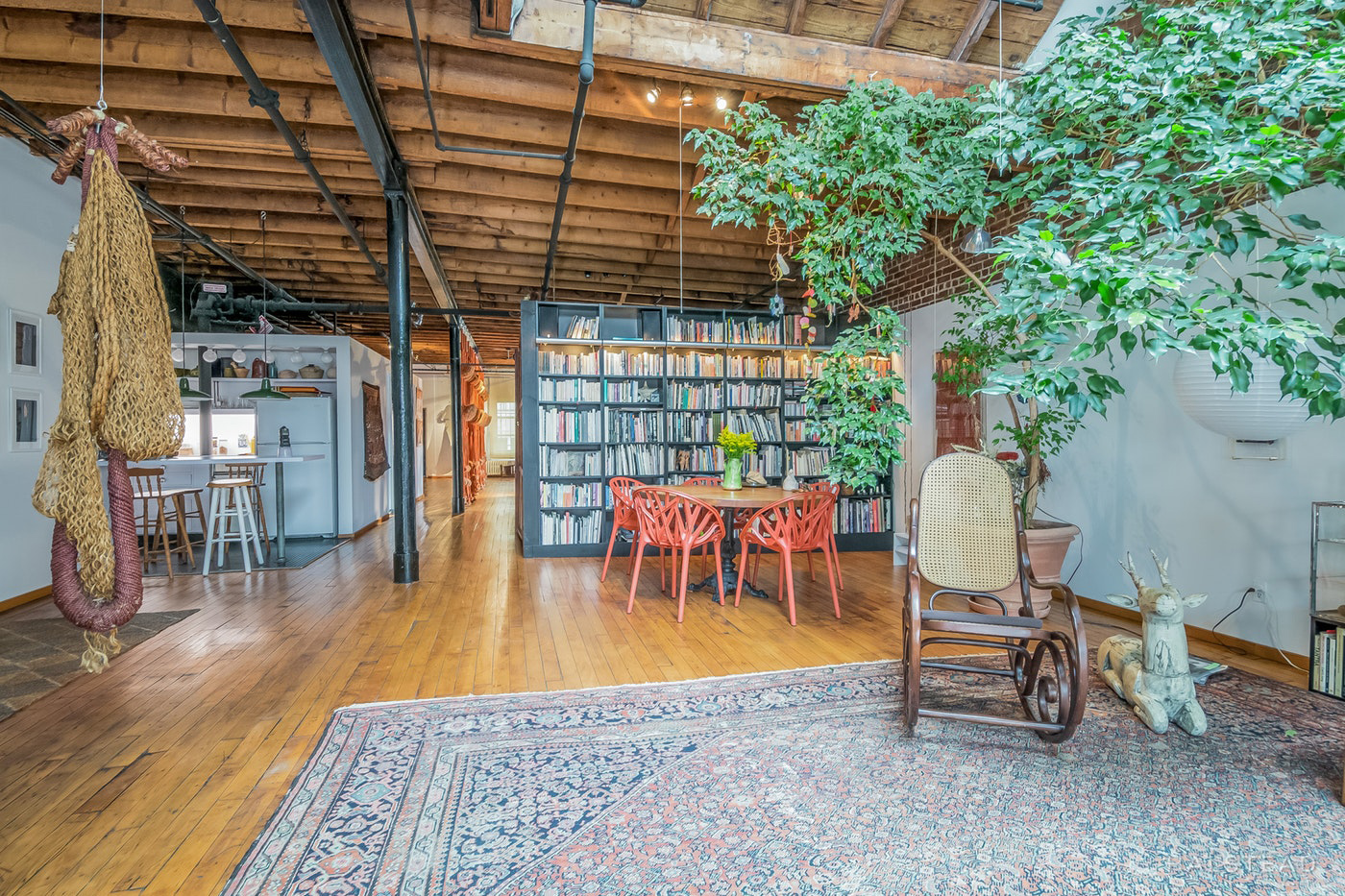 A 3,000 sq ft artist's loft in Manhattan lists for $4m