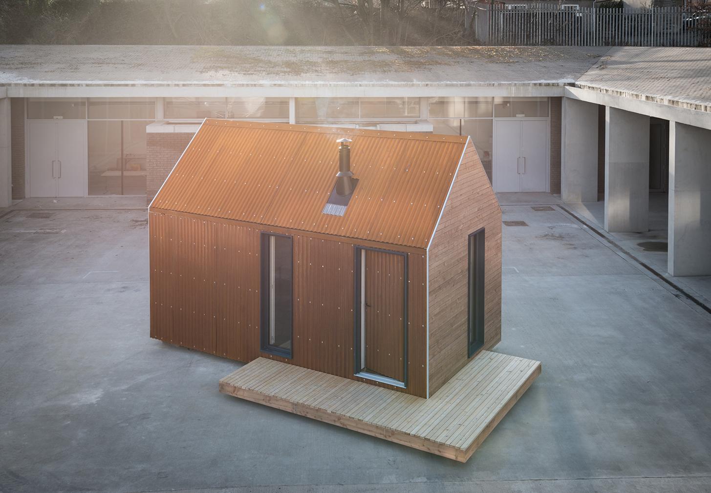 Artist Bothy prefab tiny home