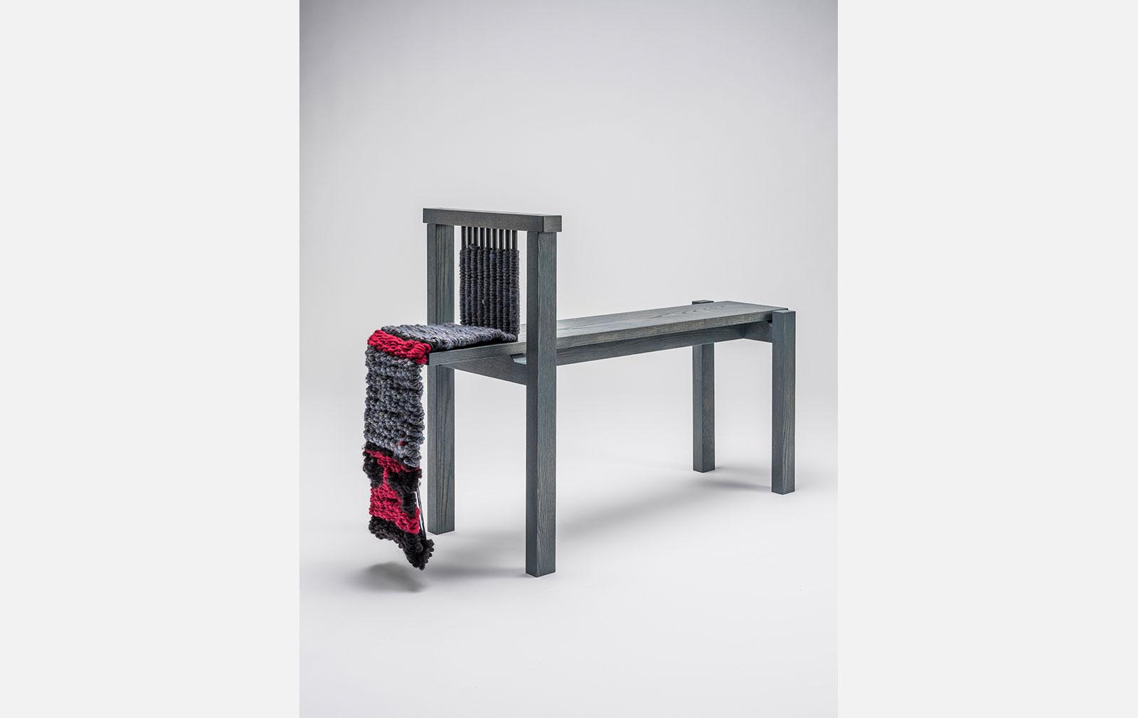 Bloom bench by Nikobo at Milan Design Week