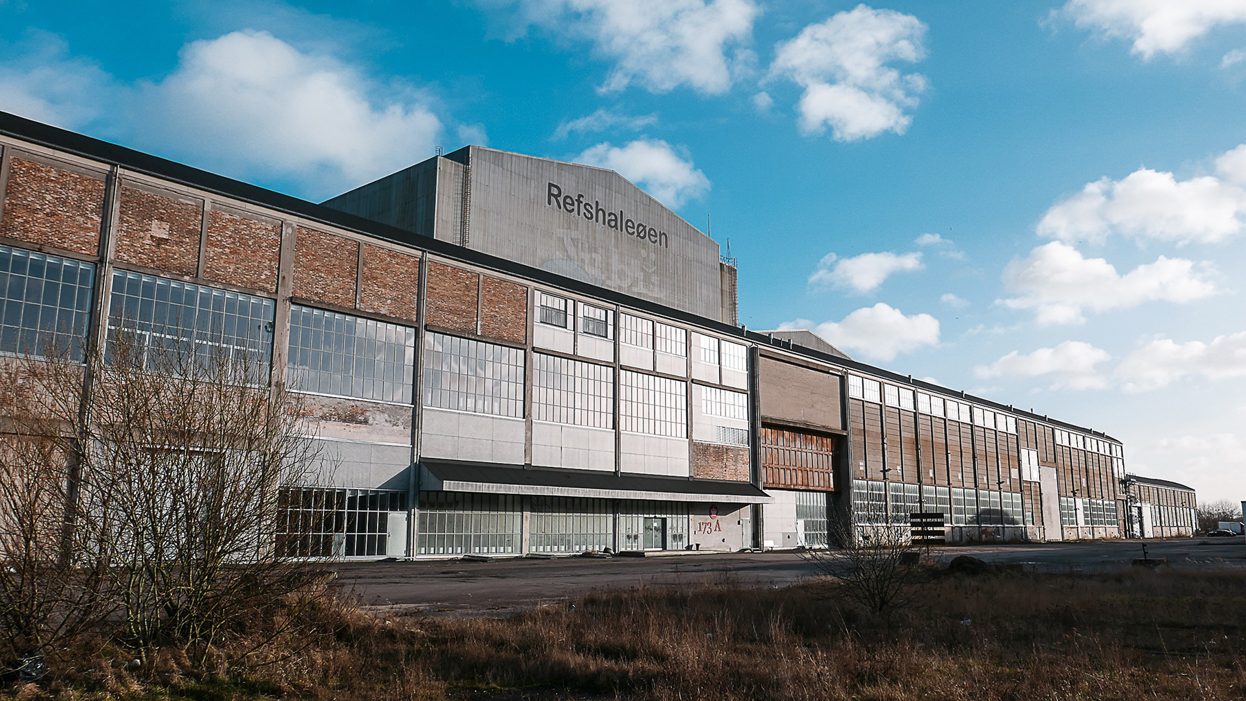 B&W's old welding hall and the framework of the new art centre Copenhagen Contemporary, 2018. Photography: Katrine Jungersen Hansen