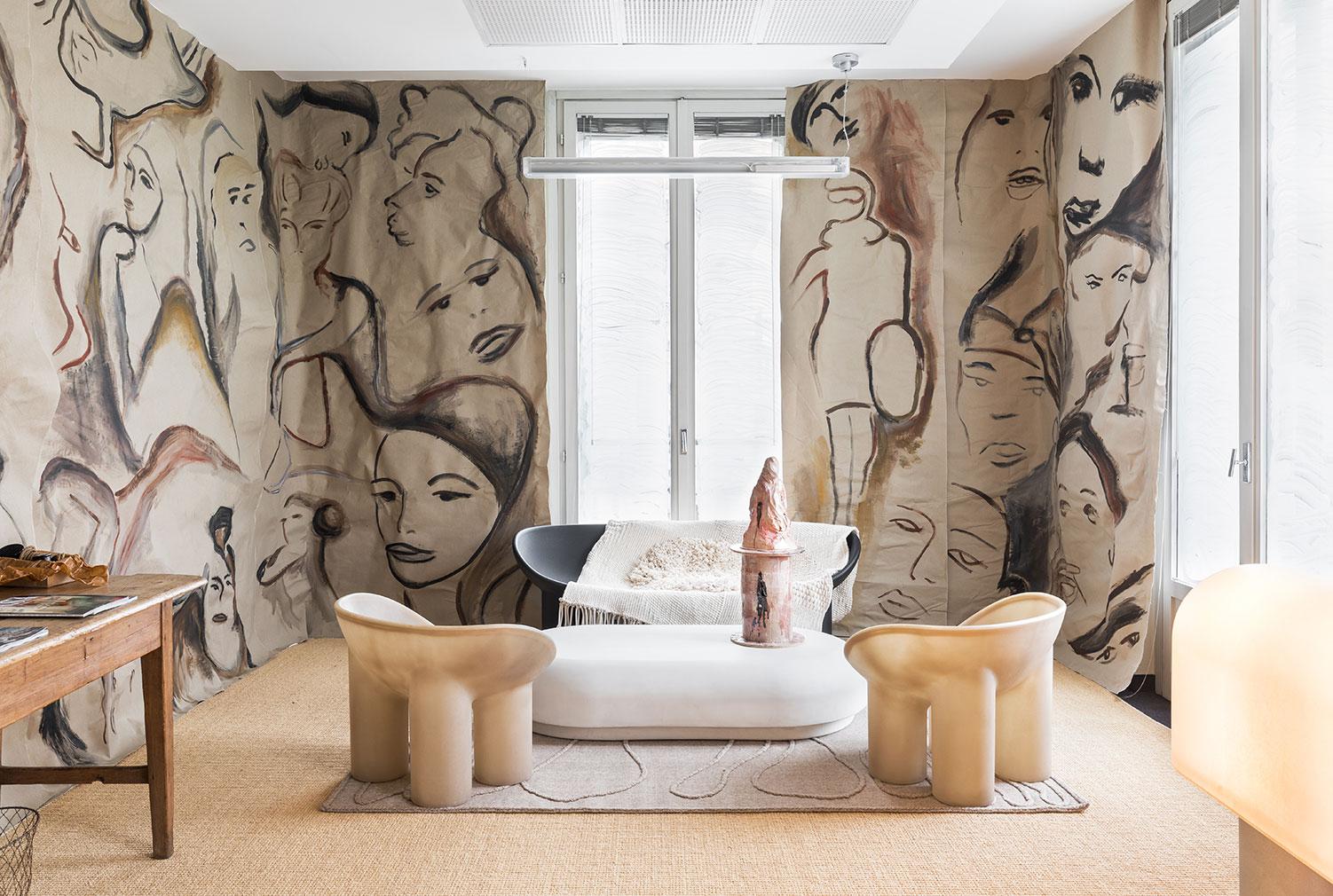 Faye Toogood's Milan Design Week installation for Vogue