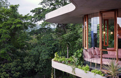 Property of the week: a slice of Brazilian modernism in the Australian rainforest