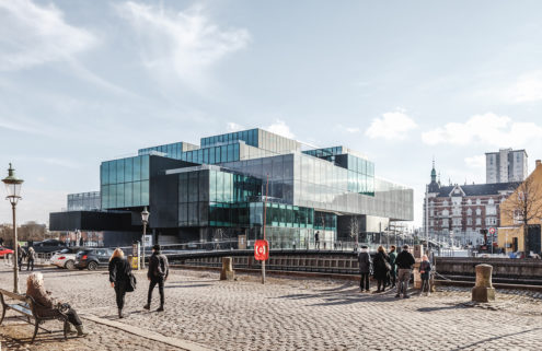 OMA creates Blox – a jenga-like new design hub in Copenhagen