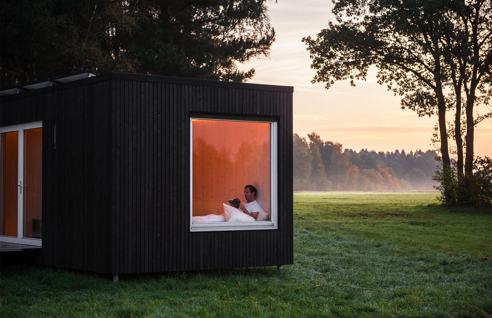 Slow Cabins for rent in Belgium
