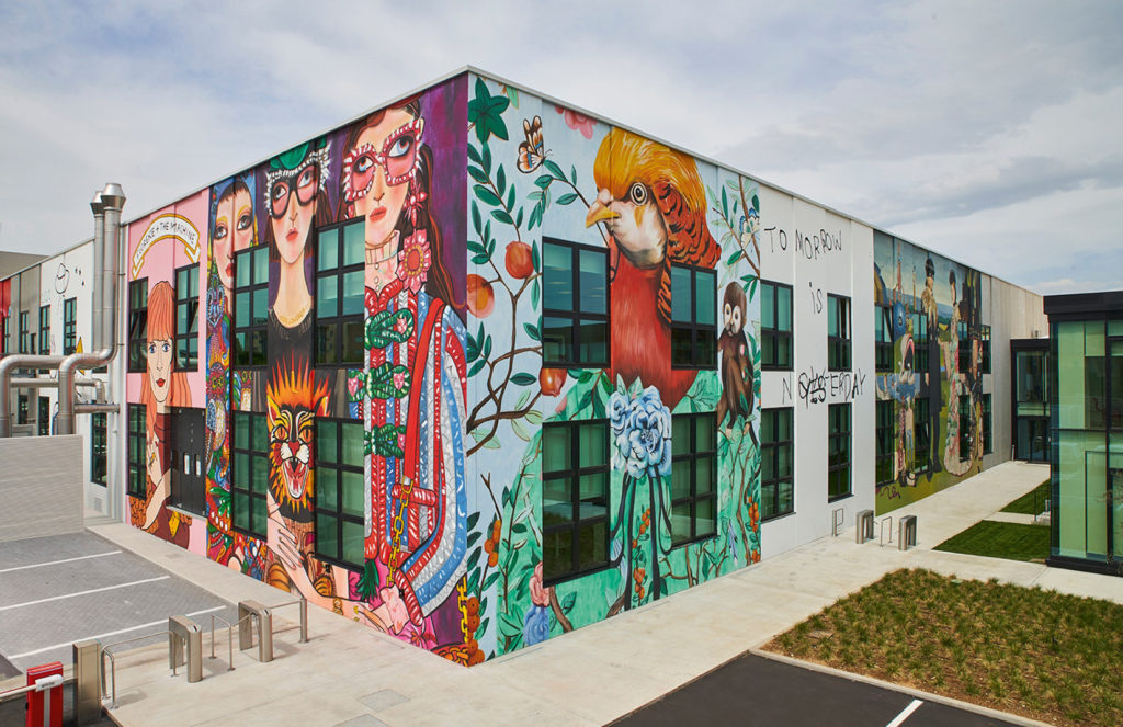 Gucci Unveils Its Colossal 37 000 Sq Ft Artlab In Florence