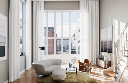 Property of the week: a Passivehaus apartment with soaring ceilings in Berlin