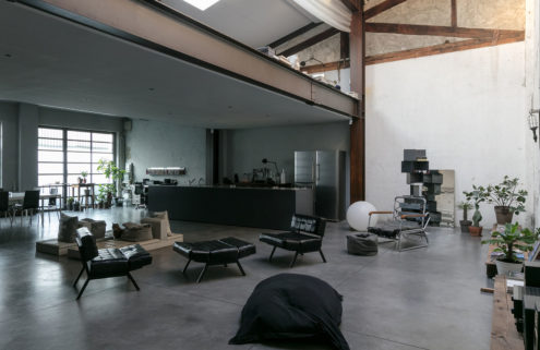 Holiday home of the week: an industrial loft in Milan