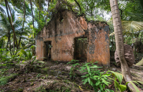 Explore the ruins of a notorious French penal colony