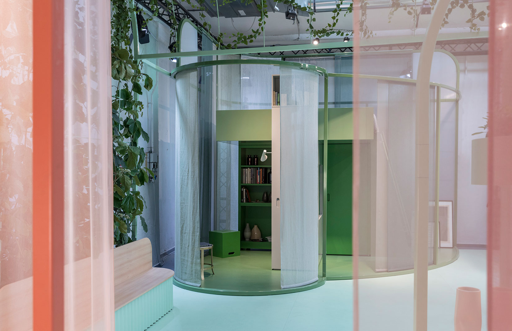 Studiomama's MINI Living installation at Milan Design Week
