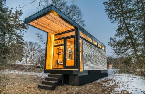 Tiny homes designed for writers hit the market for $110,000