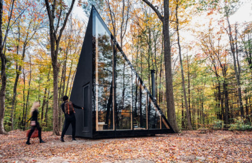 BIG's compact New York cabin joins the tiny house trend