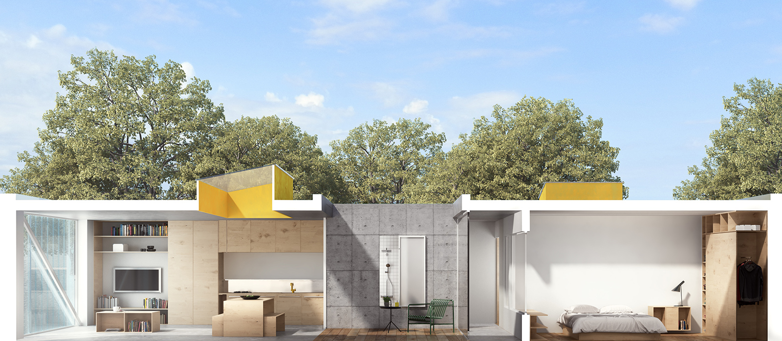 Property start-up Cube Haus taps award-winning British architects to create 'infill' prefabs