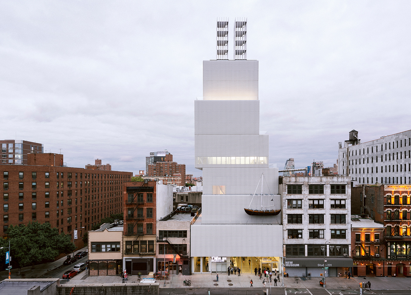 New Museum in new York. Photography: Dean Kaufman