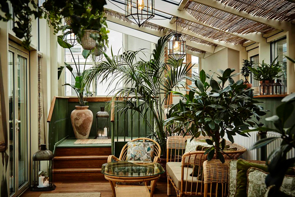Hotel Sanders conservatory