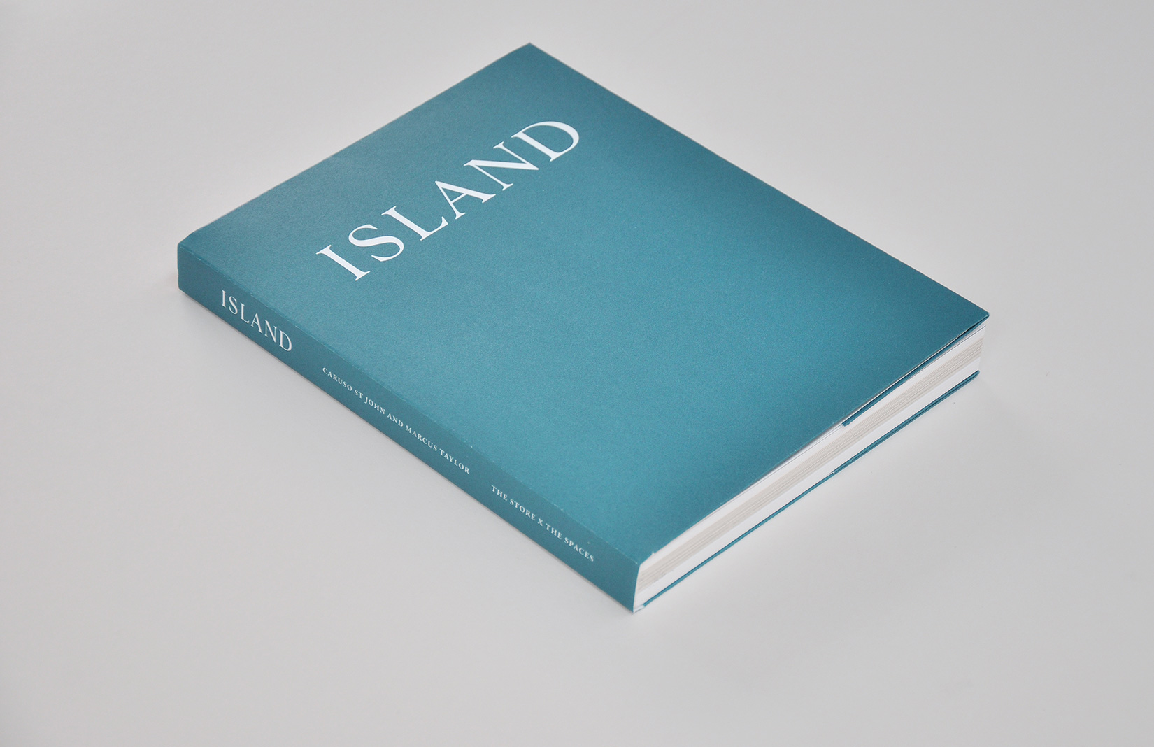 Island book by Caruso St John and Marcus Taylor
