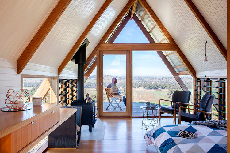 Australian holiday homes designed for slow living this summer: JR's eco-hut