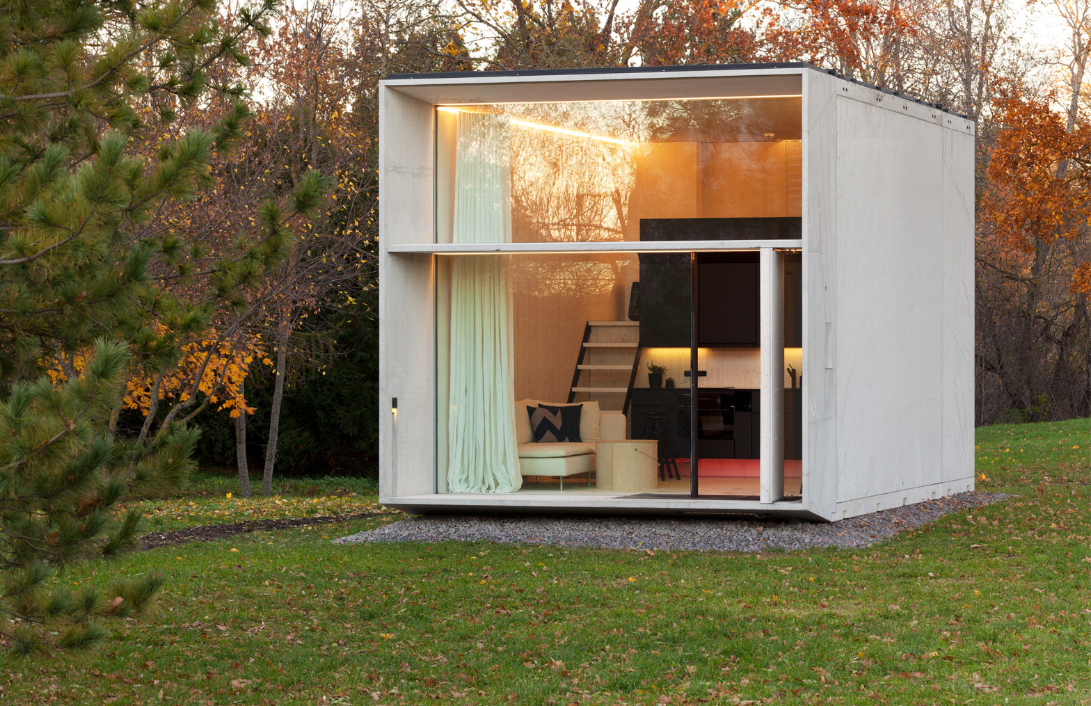 Prefab homes you can build in under a day