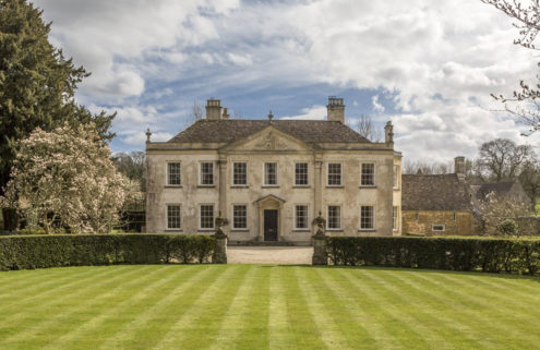 Evelyn Waugh's Gloucestershire home goes on the market for £3m
