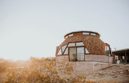 Stay in restored geodesic dome home in Palm Springs