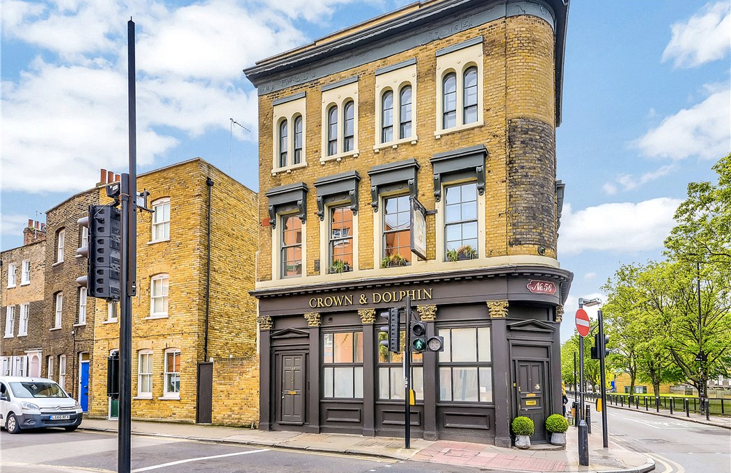 Crown and Dolphin flat for sale East London