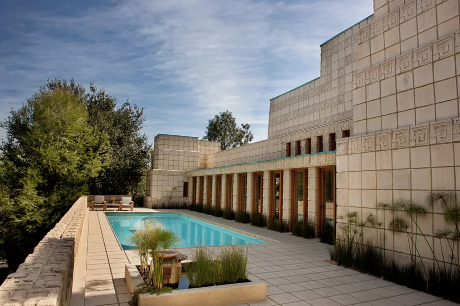 Frank Lloyd Wright's Mayan masterpiece Ennis House hits the market