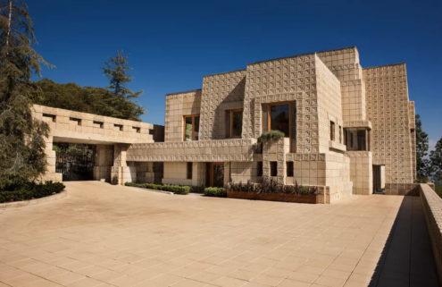 Frank Lloyd Wright's Mayan masterpiece Ennis House hits the market