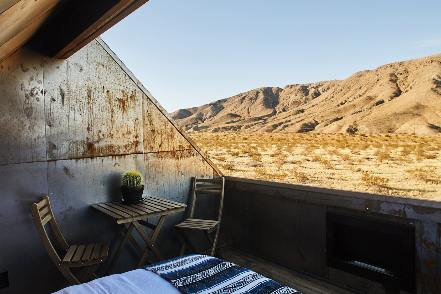 Folly Cabins for rent Joshua Tree National Park. Photography: Sam Frost